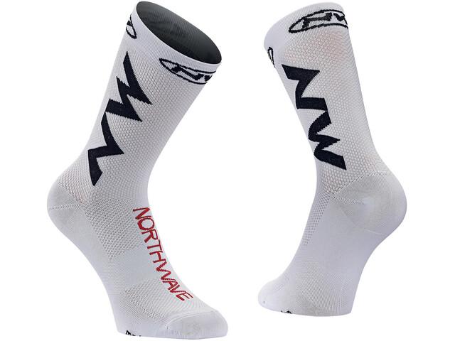 Northwave Extreme Air Socks white/black/red